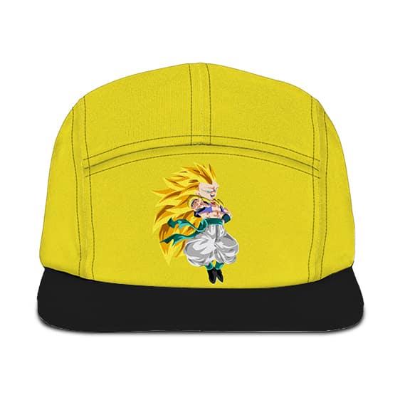 Dragon Ball Z Gotenks Super Saiyan 3 Black Yellow Camper Hat