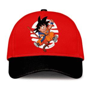 Dragon Ball Z Happy Kid Goku Wonderful Red Dad Baseball Cap