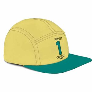 Dragon Ball Z Hope 1 Capsule Corp Dope 5 Panel Hat