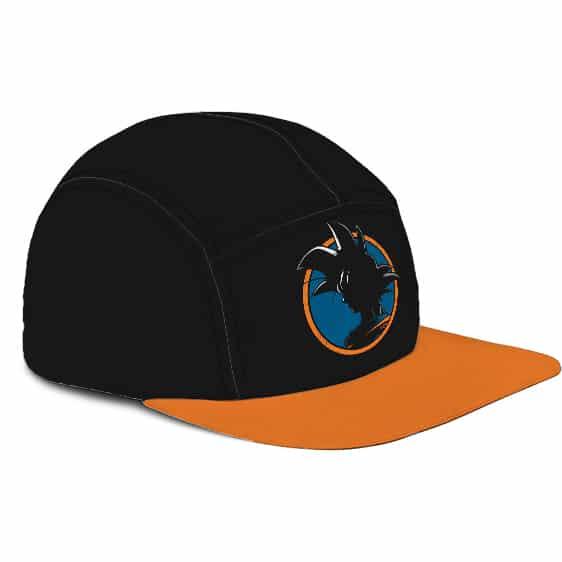Dragon Ball Z Kakarot Base Form Cool Black Orange Camper Cap