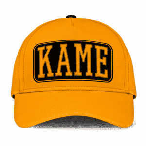 Dragon Ball Z Kame New Era Inspired Design Orange Baseball Cap