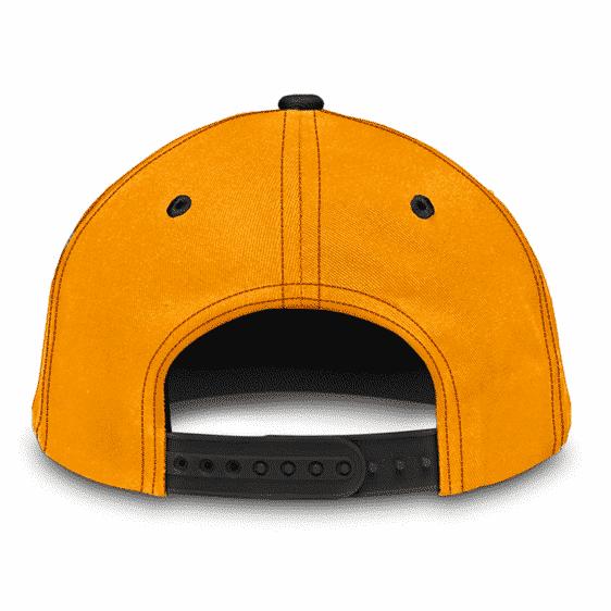 Dragon Ball Z Kame New Era Inspired Design Orange Baseball Cap