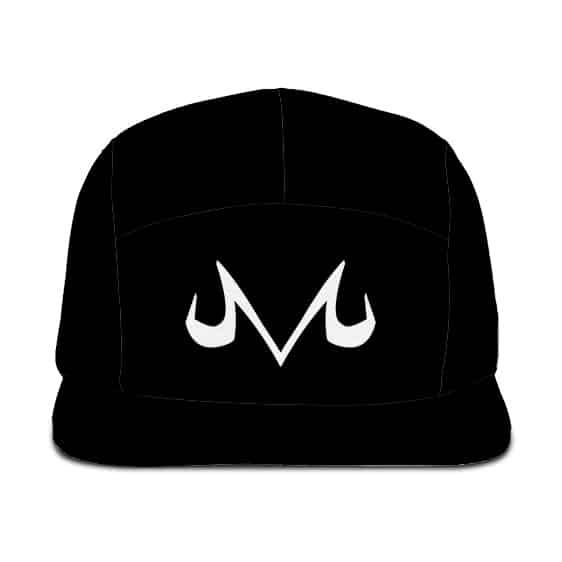 Dragon Ball Z Majin Symbol Awesome Minimalist Black Camper Hat