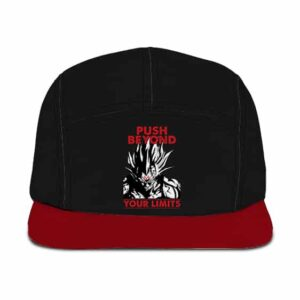 Dragon Ball Z Majin Vegeta Push Beyond Your Limits Gym 5 Panel Hat