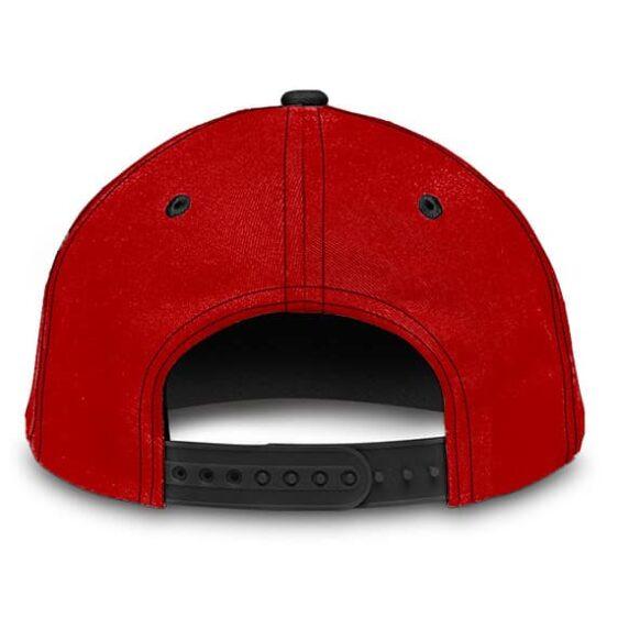 Dragon Ball Z Master Roshi Cool Supreme Black Red Trucker Hat