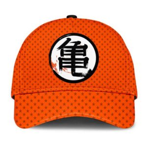 Dragon Ball Z Master Roshi Kanji Star Pattern Baseball Cap