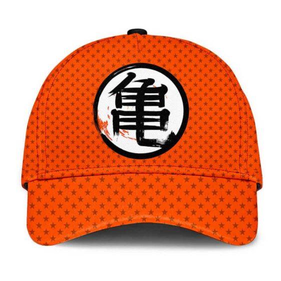 Dragon Ball Z Master Roshi Kanji Star Pattern Baseball Cap