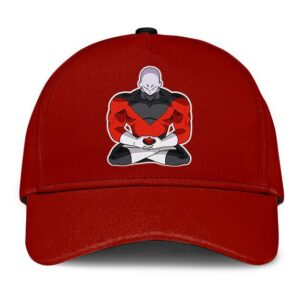 Dragon Ball Z Meditating Jiren Maroon Cool Dad Cap