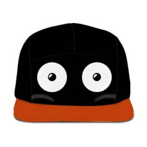 Dragon Ball Z Mr. Popo Cute Eyes Black Red Orange Cosplay 5 Panel Hat
