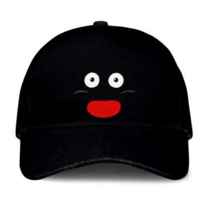 Dragon Ball Z Mr. Popo Funny Face Black Dad Baseball Cap