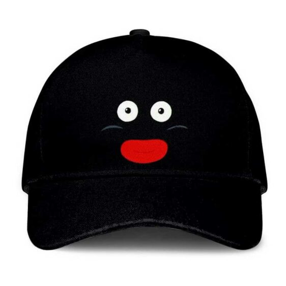 Dragon Ball Z Mr. Popo Funny Face Black Dad Baseball Cap