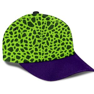 Dragon Ball Z Perfect Cell Inspired Pattern Cosplay Dad Cap