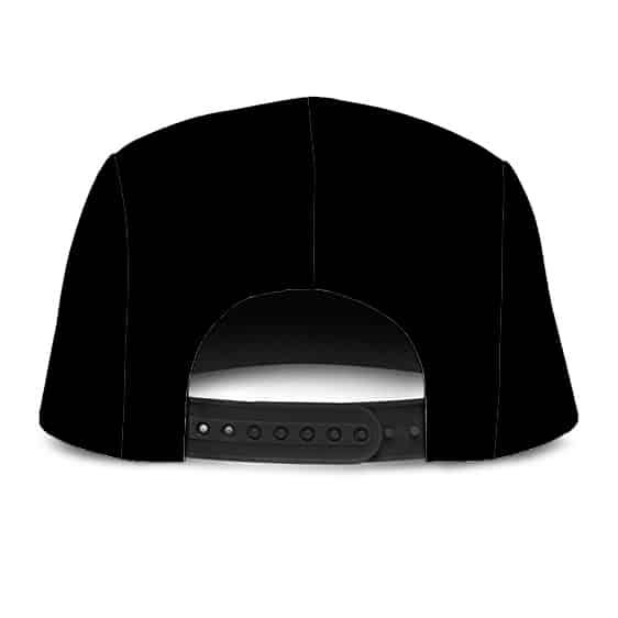 Dragon Ball Z Red Ribbon Army Logo Black Dope 5 Panel Hat