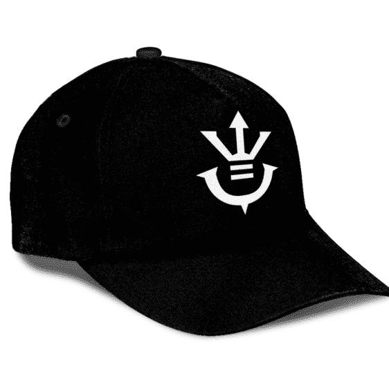 Dragon Ball Z Saiyan Royal Family Crest Minimalist Black Classic Dad Cap