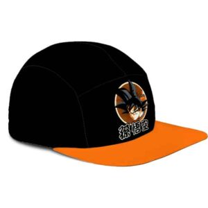 Dragon Ball Z Son Goku HD Artwork Awesome Black Orange Camper Hat