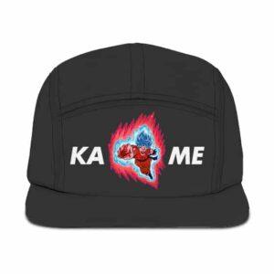 Dragon Ball Z Son Goku Kame Awesome Gray 5 Panel Hat