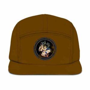 Dragon Ball Z Son Goku Kamehameha Black Badge Camper Hat