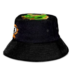 Dragon Ball Z Son Goku Symbol Style Black Bucket Hat