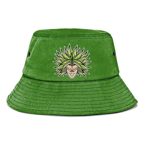Dragon Ball Z Super Saiyan Broly Green Powerful Bucket Hat