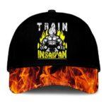 Dragon Ball Z Vegeta Train Insane Insaiyan Flame Black Dad Baseball Hat