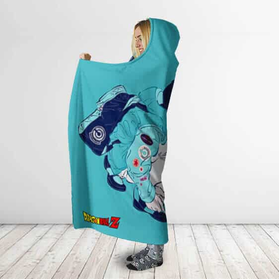 Dragon Ball Z What If Future Trunks Capsule Corp. Hoodie Blanket