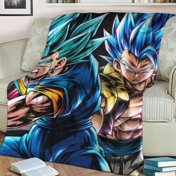 Dragon Balll Vegito Gogeta Super Saiyan Blue Cool Blanket
