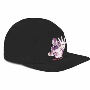 Drasgon Ball Z Full Power Jiren Minimalist Black 5 Panel Hat