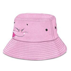 Fat Majin Buu Dragon Ball Z Cute Pink Awesome Bucket Hat
