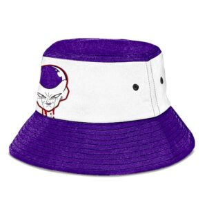 Frieza Dragon Ball Z White and Purple Awesome Bucket Hat