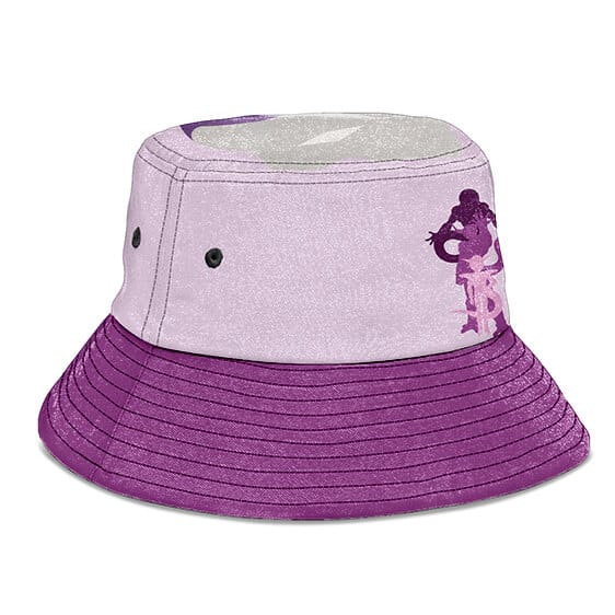 Frieza's Forms Dragon Ball Z Pink Purple Awesome Bucket Hat