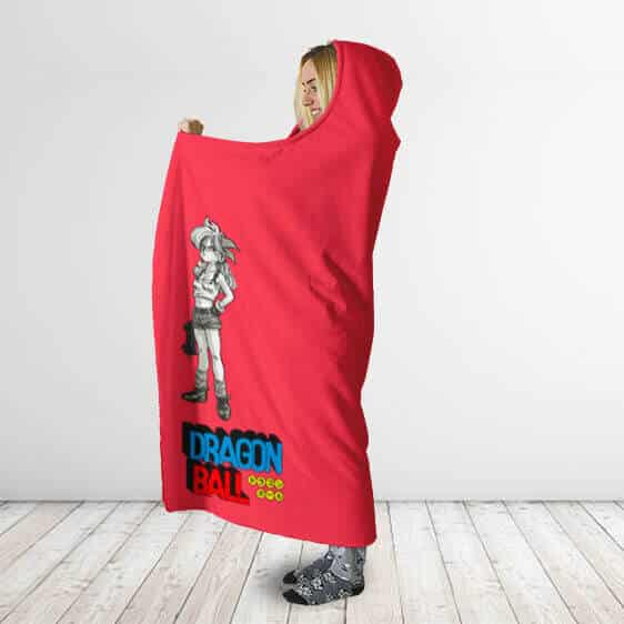 Dragon Ball Launch Dual Personality Comfortable Hooded Blanket