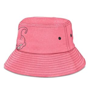 Kid Buu Dragon Ball Z Pink and Powerful Awesome Bucket Hat