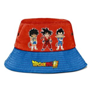 Kid Goku Vegeta Broly Dragon Ball Super Awesome Bucket Hat