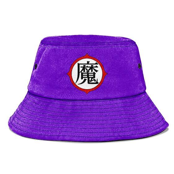 King Piccolo Kanji Sign Dragon Ball Purple Cool Bucket Hat