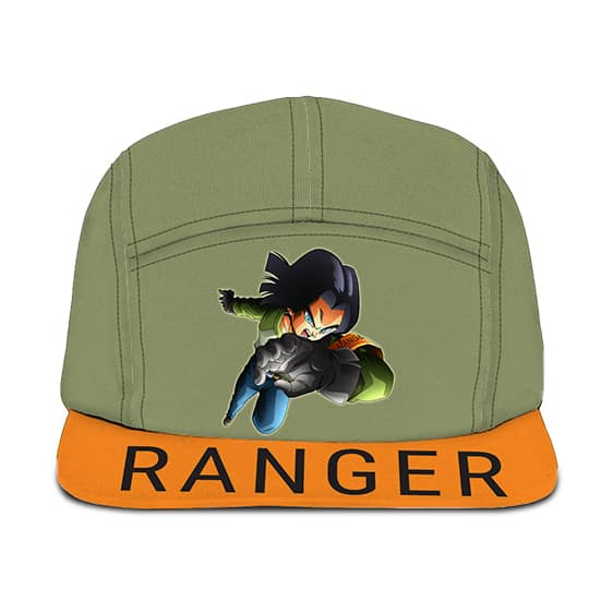 MIR Ranger Dragon Ball Z Android 17 Dope Five Panel Cap