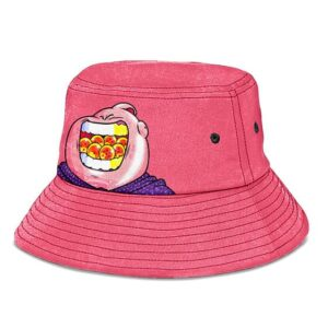 Majin Buu and the Dragon Balls DBZ Pink and Cute Bucket Hat