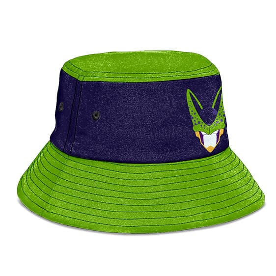 Perfect Cell Dragon Ball Z Purple and Green Cool Bucket Hat