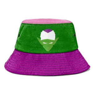 Piccolo Dragon Ball Z Purple Green and Pink Namek Bucket Hat