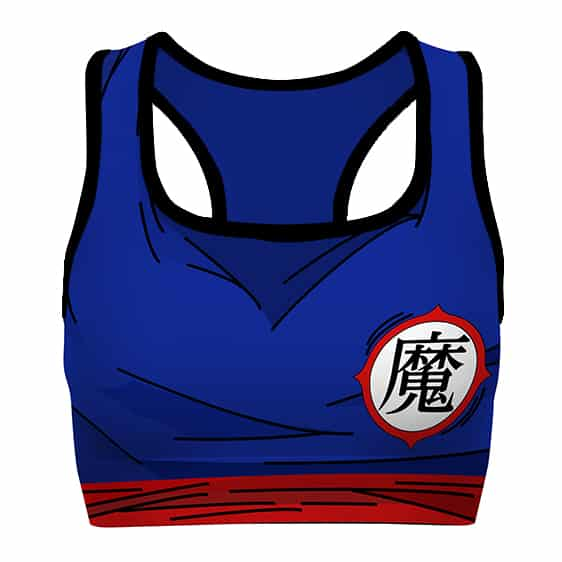 Piccolo Kanji Cosplay Detailed DBZ Cool Awesome Sports Bra