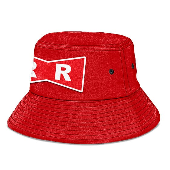 Red Ribbon Army Dragon Ball Z Red Cool Awesome Bucket Hat