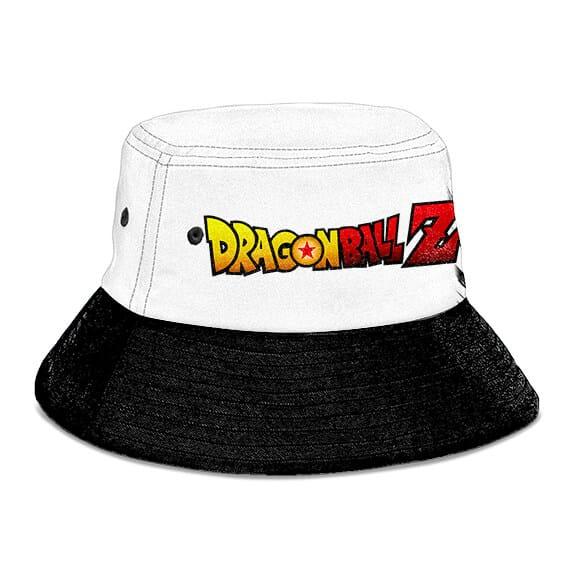 SSJ Ascended Trunks Dragon Ball Z White and Black Bucket Hat
