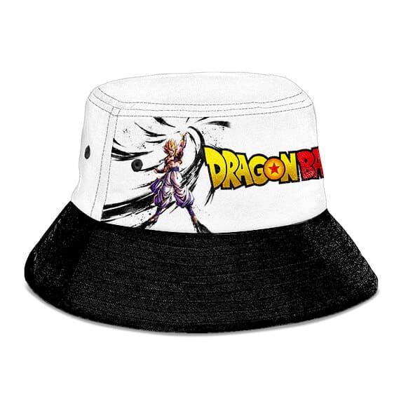 SSJ Gogeta Dragon Ball Super White Black Awesome Bucket Hat