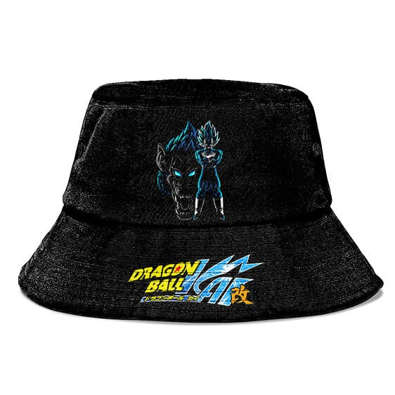 SSJG Vegeta Ohozaru Dragon Ball Z Black Powerful Bucket Hat