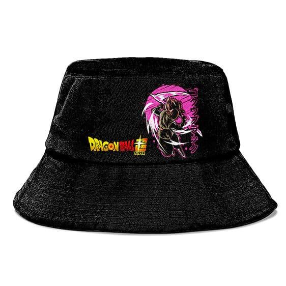 Super Saiyan Rose Dragon Ball Z Goku Black Cool Bucket Hat
