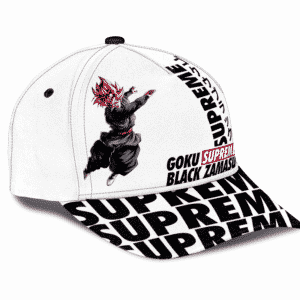 Supreme Inspired Art Rose Goku Black Zamasu Dad Baseball Cap