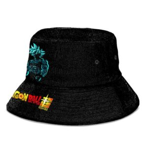 Ultra Instinct Goku Dragon Ball Super Black Cool Bucket Hat