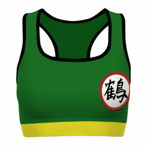 Chiaotzu Suit Costume Dragon Ball Z Cool and Cute Sports Bra