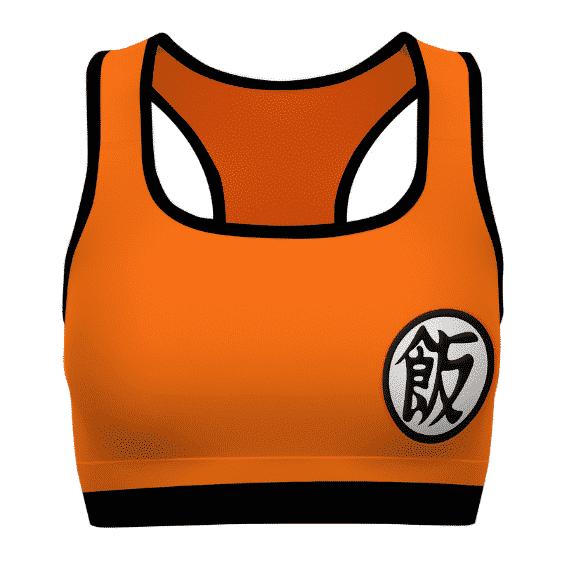 Son Gohan Kanji Costume Dragon Ball Z Awesome Sports Bra