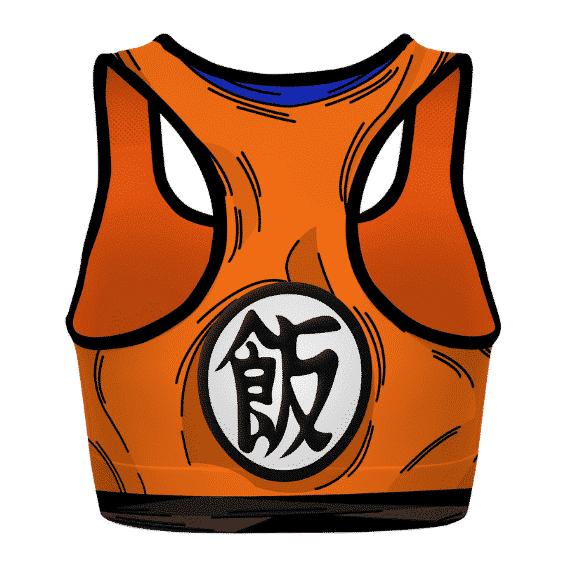 Son Gohan Detailed Cosplay Dragon Ball Z Powerful Sports Bra