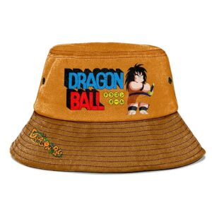 Yajirobe Dragon Ball Brown Awesome Cool and Cute Bucket Hat